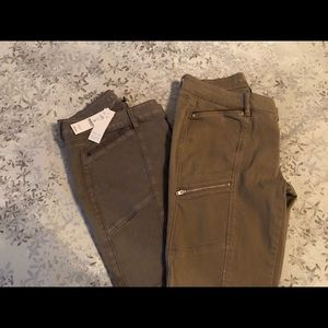 WHBM 2 pairs Jeans Skinny Ankle NWT 2 pairs size 4